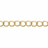 Dazzle-it Curb Chain 5X3.5mm Brass 1M /Card